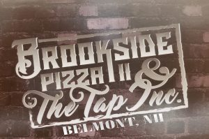 Brookside Pizza logo w-Belmont