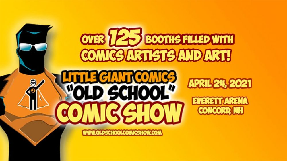 old school comic show april