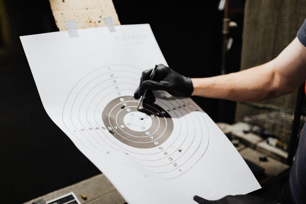 firing range target