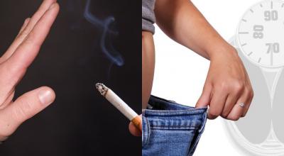 lose weight quit smoking